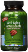 Buy Anti-Aging Antioxidants 60 Liquid Soft-Gels Irwin Naturals Online, UK Delivery, Antioxidant