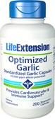 Life Extension Optimized Garlic 200 Caps