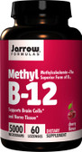 Buy Methyl B-12 Cherry Flavor 5000 mcg 60 Lozenges Jarrow Online, UK Delivery, Vitamin B12