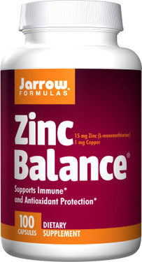 Buy Zinc Balance 100 Caps Jarrow Online, UK Delivery, Mineral Supplements