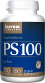 Buy PS 100 Phosphatidylserine 100 mg 60 sGels Jarrow Online, UK Delivery, Attention Deficit Disorder ADD ADHD Brain Support