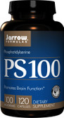 Buy PS 100 Phosphatidylserine 100 mg 120 Caps Jarrow Online, UK Delivery, Attention Deficit Disorder ADD ADHD Brain Support