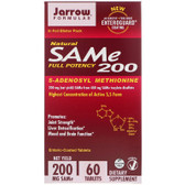 Buy Natural SAM-e 200 200mg 60 Tabs Jarrow Online, UK Delivery, Substance Abuse Detox Supplements Addiction Treatment S-Adenosyl Methionine SAME