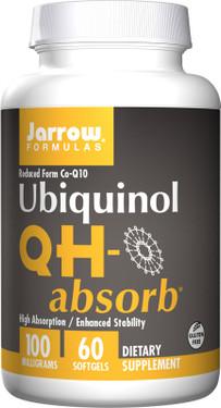 Buy Ubiquinol QH-Absorb 100 mg 60 sGels Jarrow Online, UK Delivery, Antioxidant Ubiquinol CoQ10