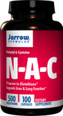 Buy N-A-C N-Acetyl-L-Cysteine 500 mg 100 Caps Jarrow Online, UK Delivery, Amino Acid