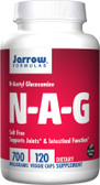 Buy N-A-G 700 mg 120 Veggie Caps Jarrow Online, UK Delivery, N-Acetyl-Glucosamine