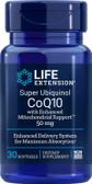 UK Buy Life Extension, Super Ubiquinol CoQ10, 50 mg, 30 Softgels