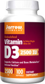 Buy Vitamin D3 2500 IU 100 sGels Jarrow Online, UK Delivery, Vitamin D3