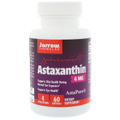 Buy Astaxanthin 4 mg 60 sGels Jarrow Online, UK Delivery, Antioxidant