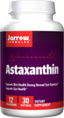 Buy Astaxanthin 12 mg 30sGels Jarrow Online, UK Delivery, Antioxidant