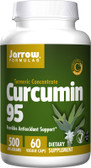 Buy Curcumin 95 500 mg 60 Veggie Caps Jarrow Online, UK Delivery, Antioxidant Curcumin Herbal Remedy Natural Treatment