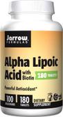 Buy Alpha Lipoic Acid with Biotin 100 mg 180 Tabs Jarrow Online, UK Delivery, Antioxidant ALA