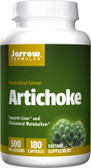 Buy Artichoke 500 500 mg 180 Caps Jarrow Online, UK Delivery, Cardiovascular Cholesterol Balance Support Artichoke Treatment