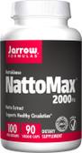 Buy NattoMax 2000 FU 100 mg 90 Veggie Caps Jarrow Online, UK Delivery, Enzymes