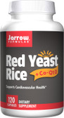Buy Red Yeast Rice + Co-Q10 120 Caps Jarrow Online, UK Delivery, Cardiovascular Cholesterol Balance Support Red Yeast Rice Coenzyme Q10
