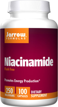Buy Niacinamide 250 mg 100 Caps Jarrow Online, UK Delivery, Vitamin B3 Niacinamide