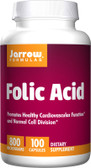 Buy Folic Acid 800 mcg 100 Caps Jarrow Online, UK Delivery, Folic Acid Prenatal Vitamin Pregnancy