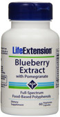 UK Buy Life Extension, Blueberry Extract with Pomegranate, 60 Caps