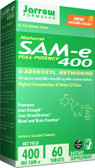 Buy SAM-e 400 60 Tabs Jarrow Online, UK Delivery, Substance Abuse Detox Supplements Addiction Treatment S-Adenosyl Methionine