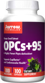 Buy OPCs + 95 Grape Seed Extract 100 mg 100 Caps Jarrow Online, UK Delivery, Antioxidant