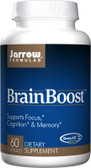 Buy BrainBoost 60 Caps Jarrow Online, UK Delivery, Attention Deficit Disorder ADD ADHD Brain Support Vinpocetine