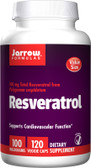 Buy Resveratrol 100 mg 120 Veggie Caps Jarrow Online, UK Delivery
