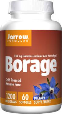 Buy Borage GLA-240 60 sGels Jarrow Online, UK Delivery, EFA Omega EPA DHA