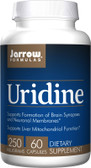 Buy Uridine 250 mg 60 Caps Jarrow Online, UK Delivery, Liver Support Formulas Pain Relief Remedy Treatment