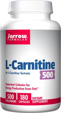 Buy L-Carnitine 500 500 mg 180 Caps Jarrow Online, UK Delivery, Amino Acid