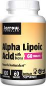 Buy Alpha Lipoic Acid 100mg 60 Tabs Jarrow Online, UK Delivery, Antioxidant ALA