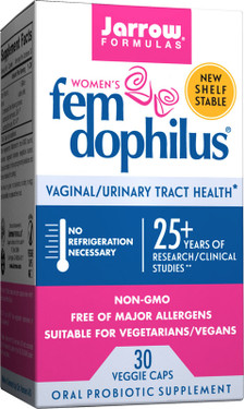 Buy Women's Fem Dophilus 30 Veggie Caps Jarrow Online, UK Delivery, Stabilized Probiotics