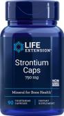 UK Buy  Life Extension, Strontium Caps, 750 mg, 90 Caps