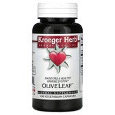 Buy Olive Leaf 100 Veggie Caps Kroeger Herb Co Online, UK Delivery, Cold Flu Formulas Remedy Relief Treatment