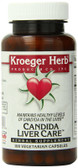 Buy Candida Liver Care 100 Veggie Caps Kroeger Herb Co Online, UK Delivery