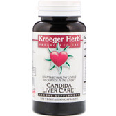 Buy Candida Liver Care 100 Veggie Caps Kroeger Herb Co Online, UK Delivery