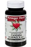 Buy Candida Formula #2 100 Veggie Caps Kroeger Herb Co Online, UK Delivery, Candida Treatment Yeast Balance Formulas