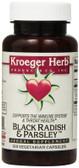 Buy Black Radish & Parsley 100 Veggie Caps Kroeger Herb Co Online, UK Delivery