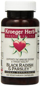 Buy Black Radish & Parsley 100 Veggie Caps Kroeger Herb Co Online, UK Delivery