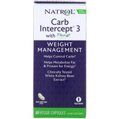 Buy UK Natrol, Carb Intercept 3, 60 Caps