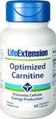 Buy Optimized Carnitine With GlycoCarn 60 Veggie Caps Life Extension Online, UK Delivery