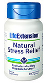 Buy Natural Stress Relief 30 Veggie Caps Life Extension Online, UK Delivery, Stress Relief Remedy Formulas Anti Stress Treatment
