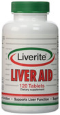 Buy Liver Aid 120 Tabs Liverite Online, UK Delivery, Liver Support Formulas Pain Relief Remedy Treatment