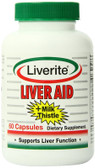 Buy Liver Aid 60 Caps Liverite Online, UK Delivery, Liver Support Formulas Pain Relief Remedy Treatment