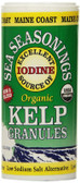 Buy Organic Sea Seasonings Kelp Granules 1.5 oz (43 g) Maine Coast Sea Vegetables Online, UK Delivery, Raw Foods Algae Kelp