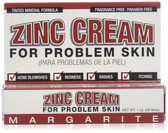 Buy UK Zinc Cream For Problem Skin 1 oz (28 g) Margarite Cosmetics Online, UK Delivery