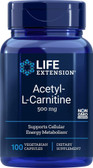 UK Buy Life Extension, Acetyl-L-Carnitine 500 mg, 100 Caps