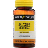 Buy Activated Vegetable Charcoal 60 Caps Mason Vitamins Online, UK Delivery, Mineral Supplements