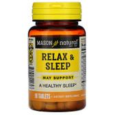 Buy Relax & Sleep 90 Tabs Mason Vitamins Online, UK Delivery, Sleep Support Aid