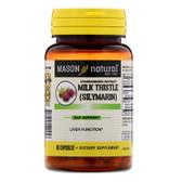 Buy Milk Thistle (Silymarin) Liver Cleanser 60 Caps Mason Vitamins Online, UK Delivery, Cleanse Detox Cleansing Detoxify Formulas