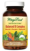 Buy DailyFoods Balanced B Complex 90 Tabs MegaFood Online, UK Delivery, Vitamin B Vegan Vegetarian